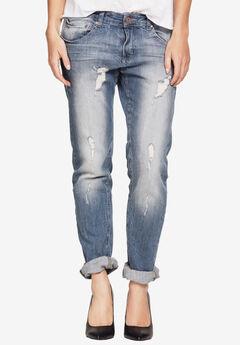Boyfriend Jeans, DISTRESSED