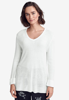 Lightweight Sweater Tunic by ellos®,