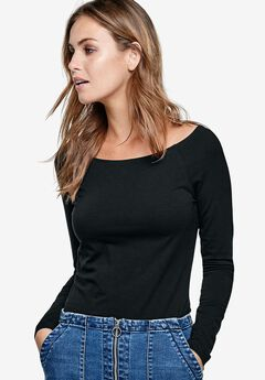 Off-The-Shoulder Tee by ellos®,