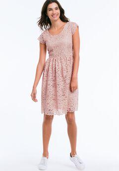 Tea Lace Dress by ellos®,