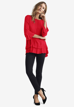 Tiered Ruffle Tunic,