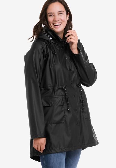 Képtalálatok a következőre: ellos raincoat black