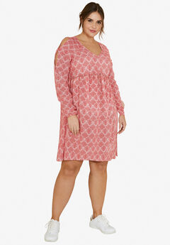Matilda Cold Shoulder Dress by ellos®,