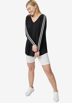 Side-Stripe Tunic,