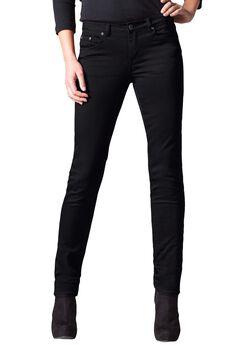 Straight Leg Twill Pants by ellos®,