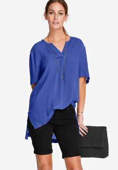 Crinkle Tunic by ellos®,