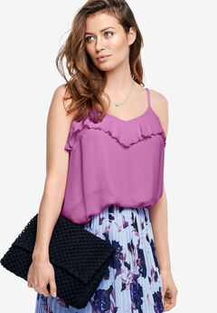 Ruffled Camisole by ellos®,