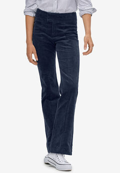 Bootcut Corduroy Pants by ellos®, RICH NAVY