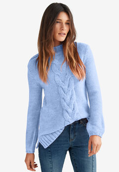 Mock-Neck Pullover by ellos®,
