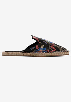 Jacquard Espadrille Mules by ellos®,