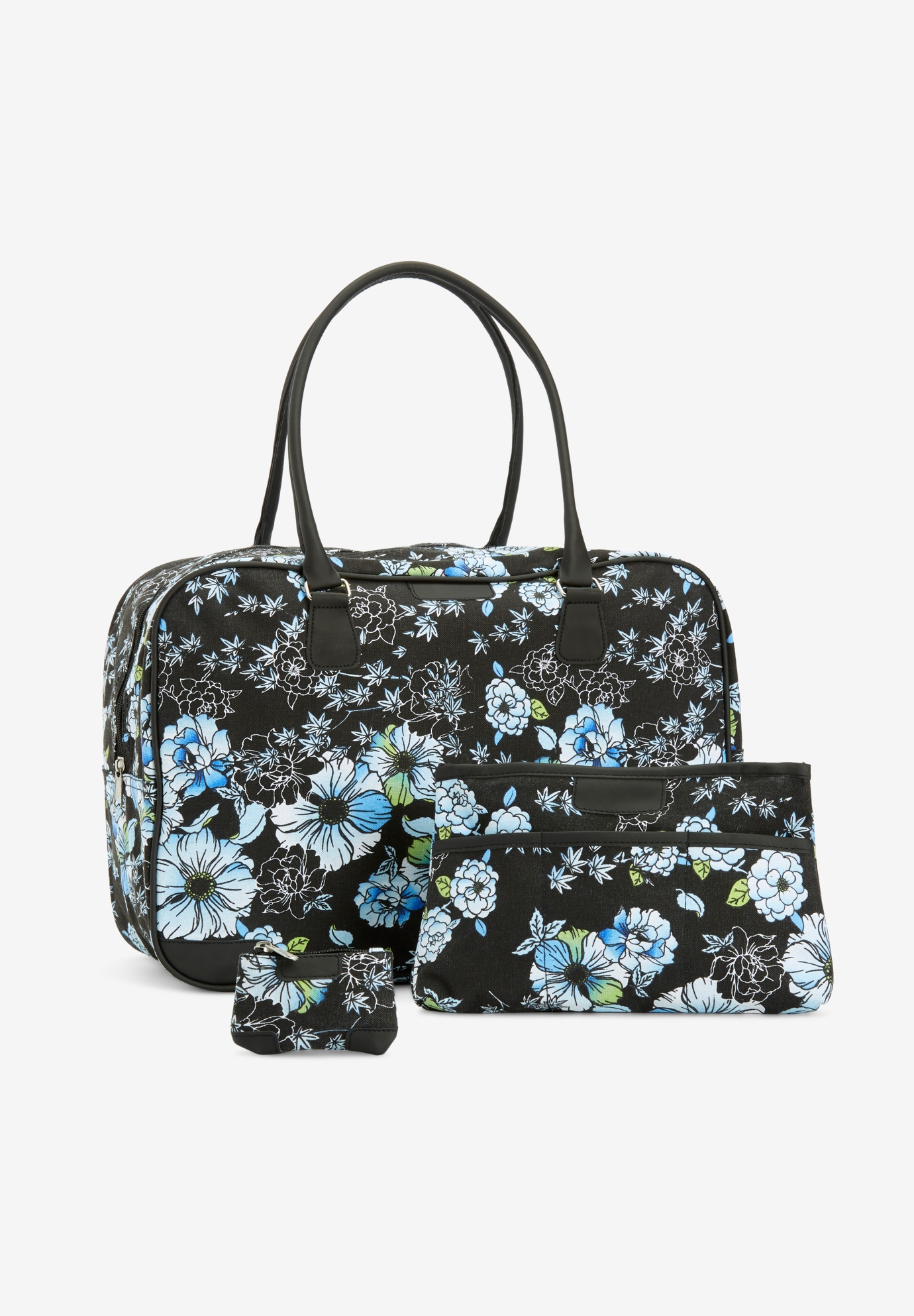 3-Piece Travel Set, FLORAL PRINT