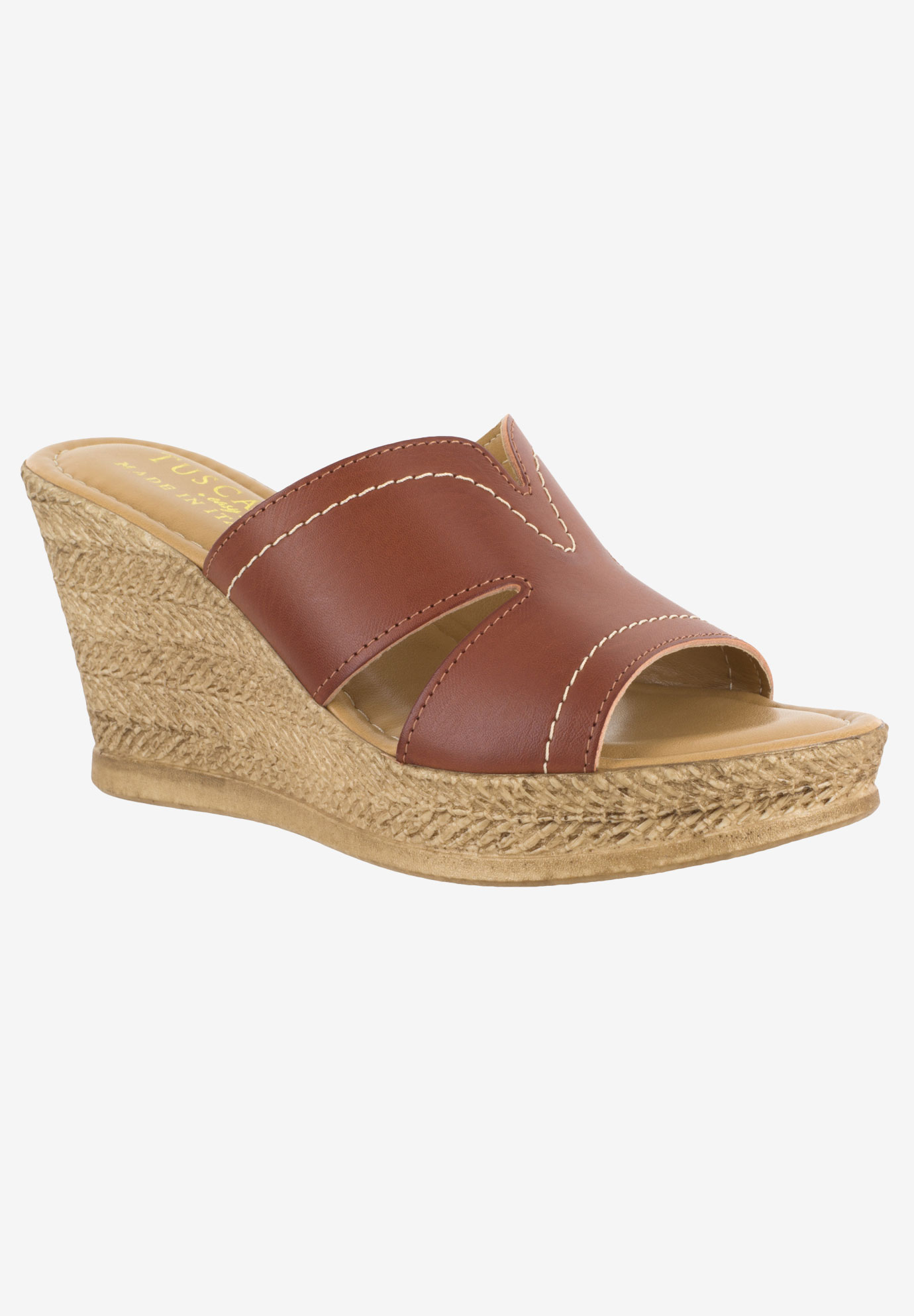 Marsala Wedge by Easy Street,