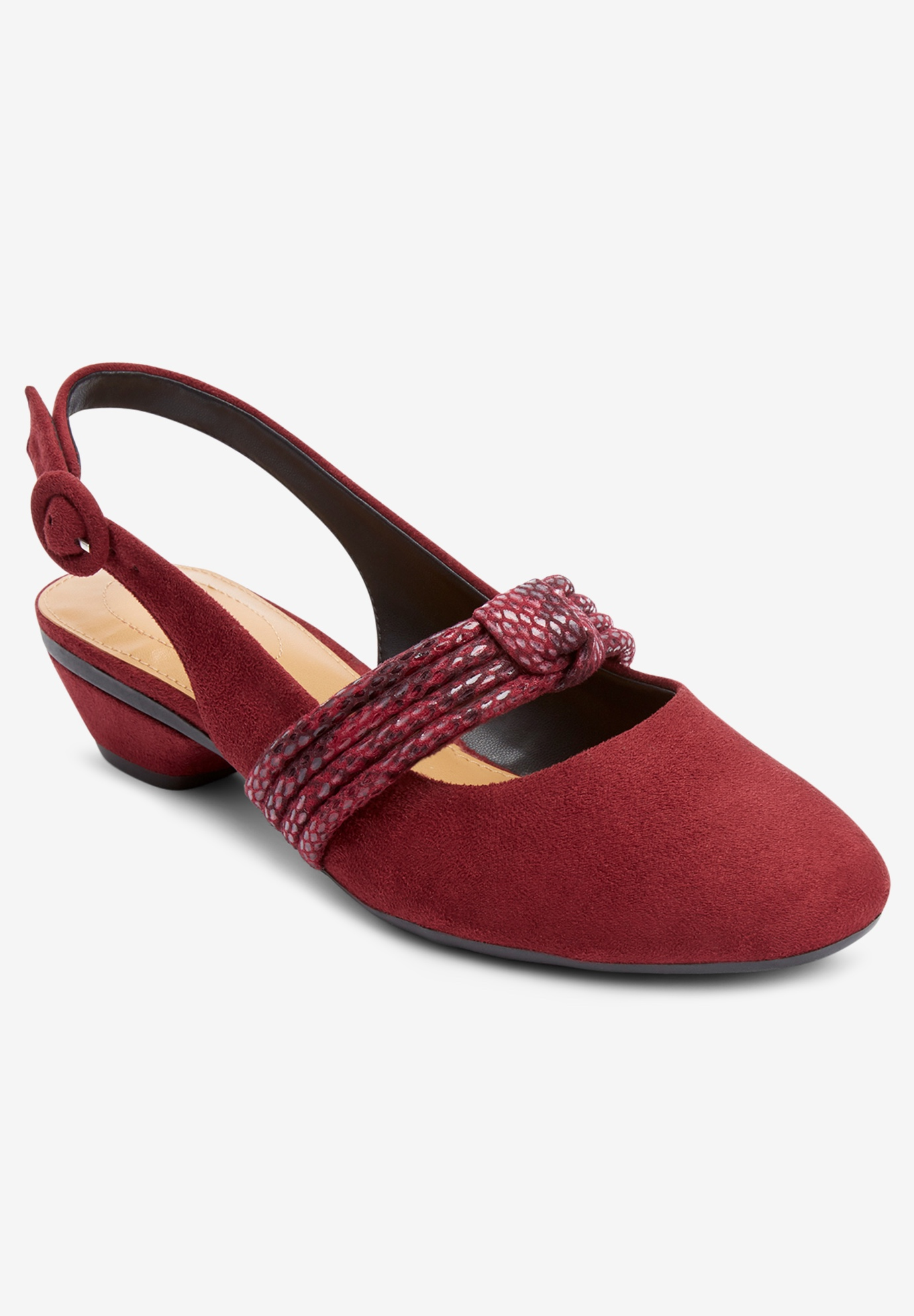 The Garland Slingback by Comfortview®,