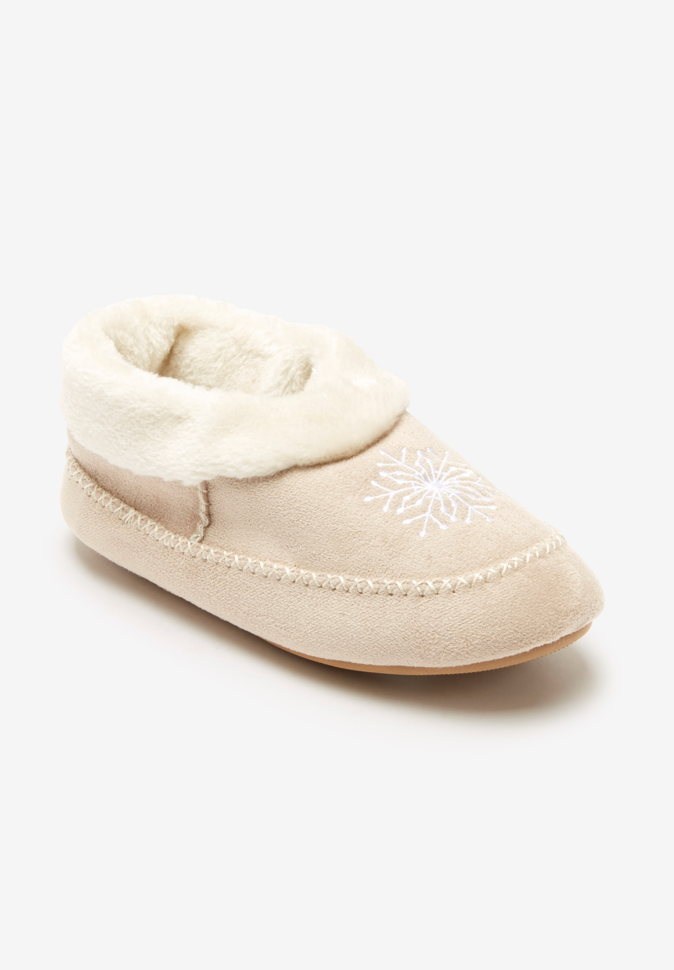 The Snowflake Slipper by Comfortview®,