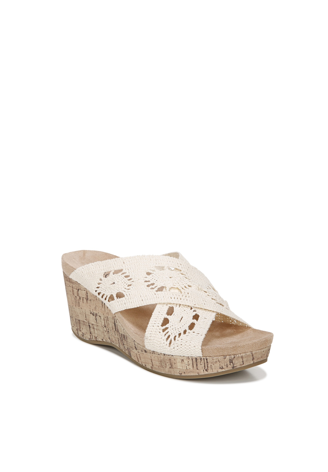Donna Wedge Sandals ,