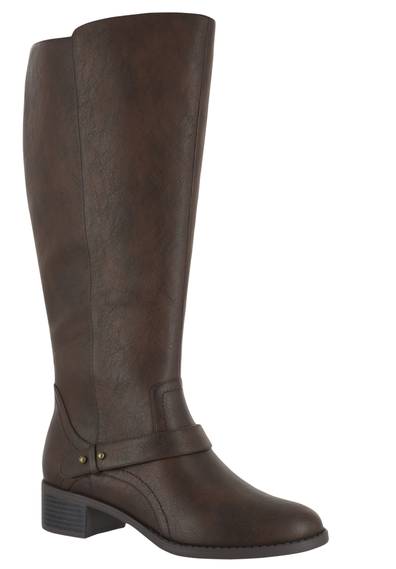 Jewel Wide Calf Boots by Easy Street®,