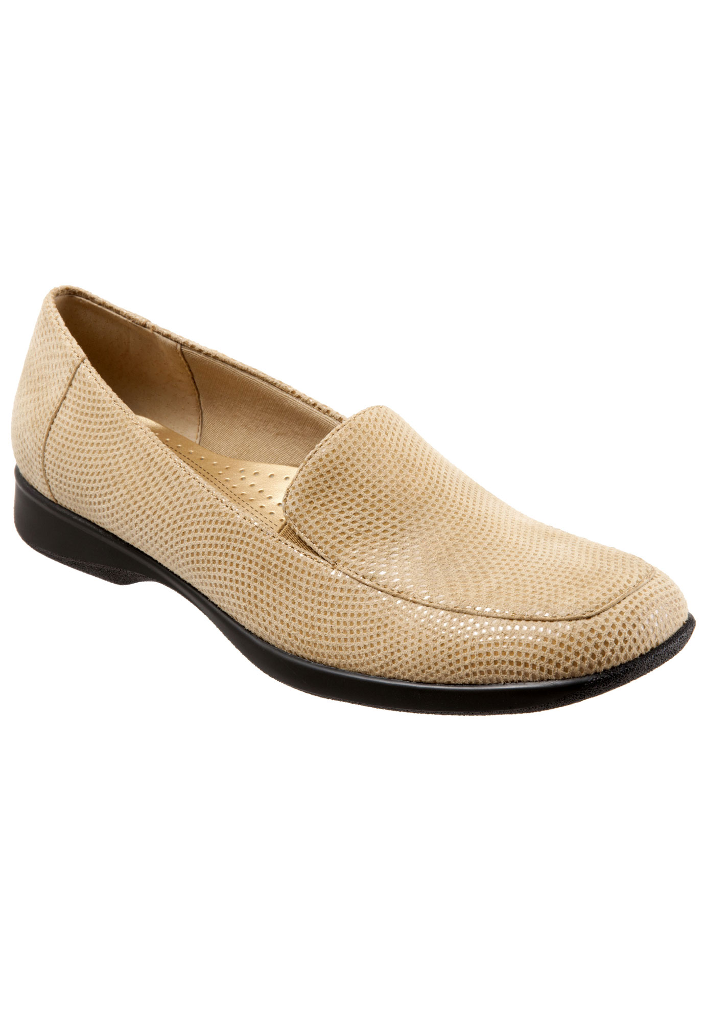 Jenn Mini Dots Leather Loafer by Trotters®,
