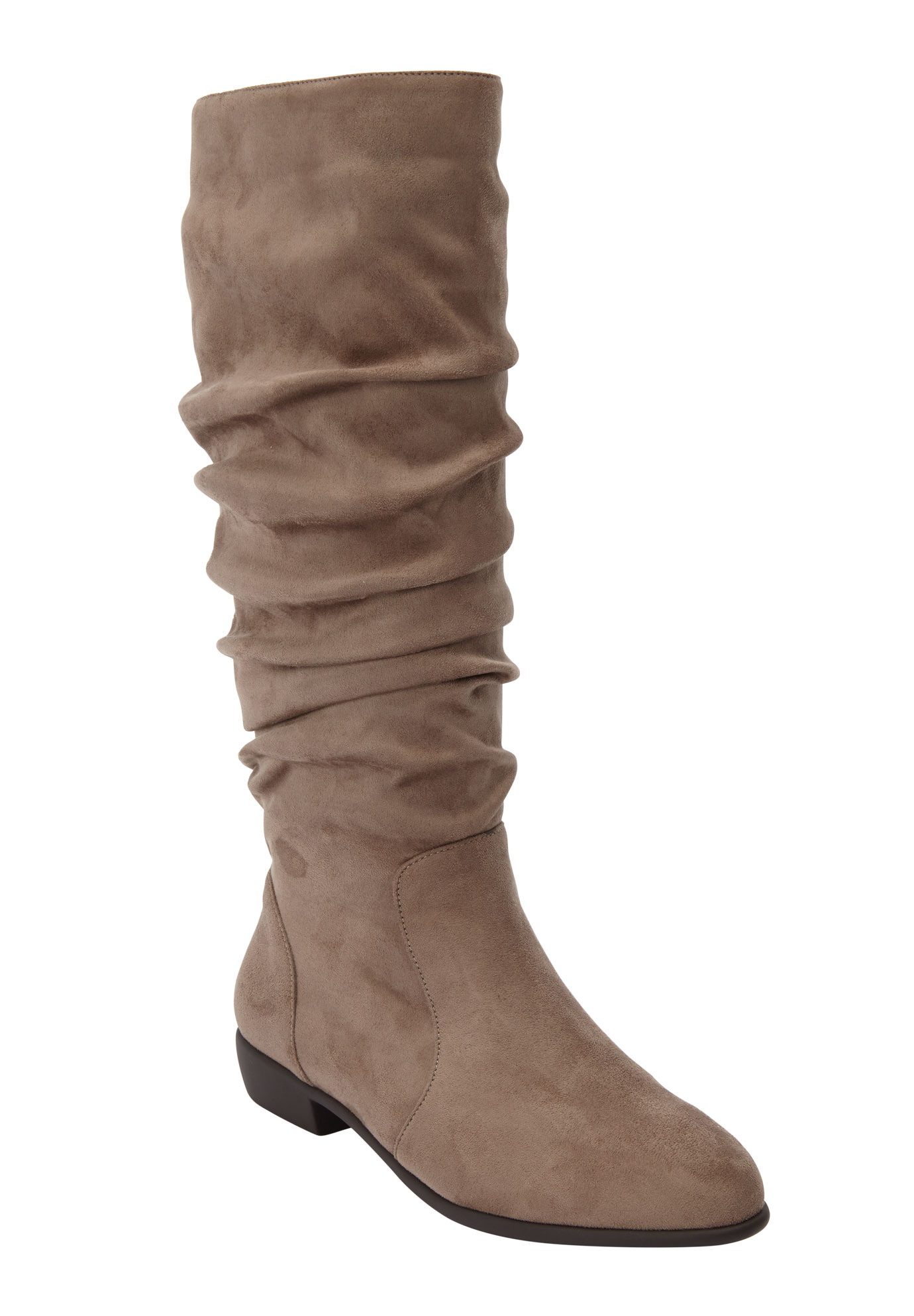 The Shelly Wide Calf Boot by Comfortview®,