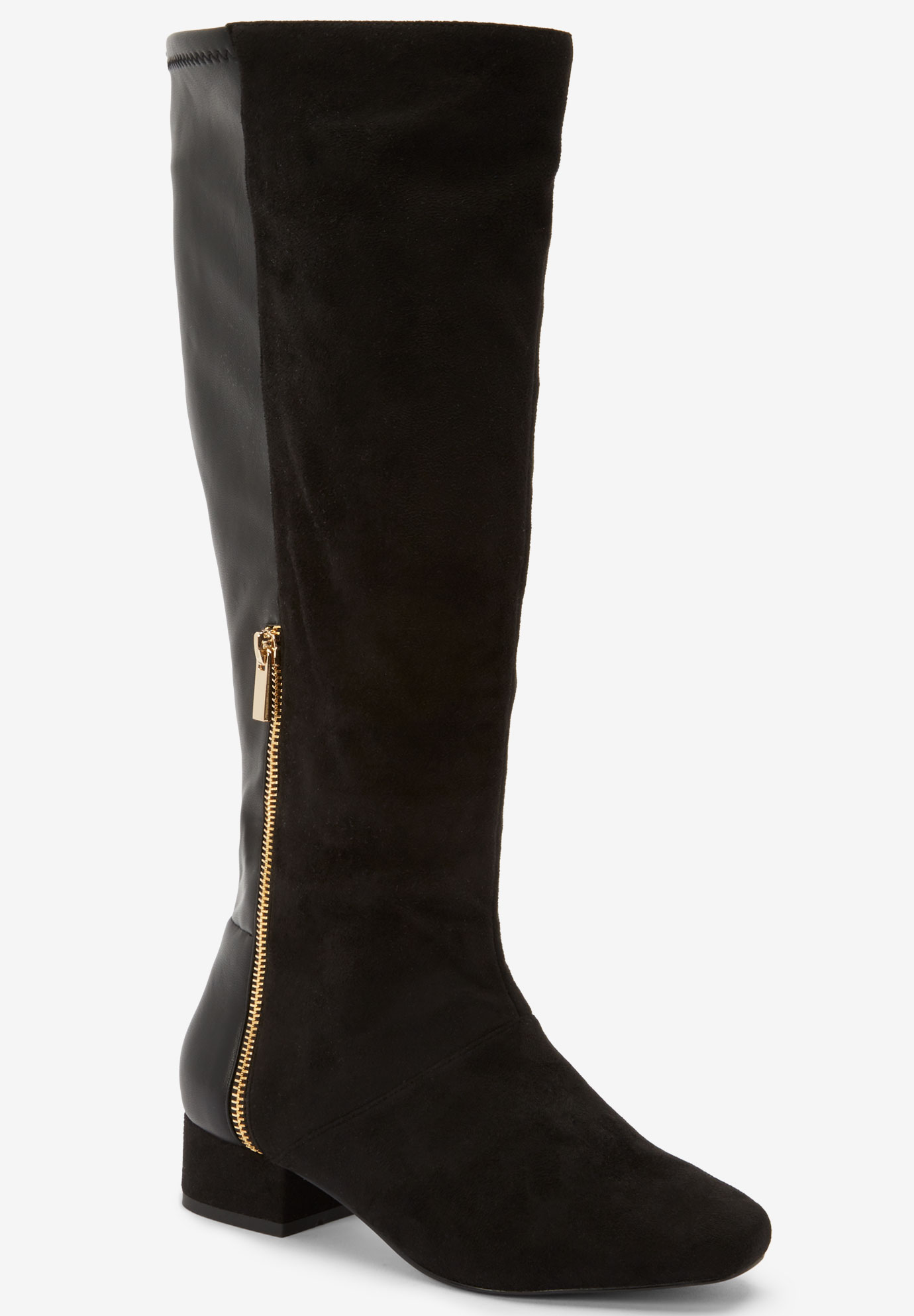 The Ivana Wide Calf Boot ,