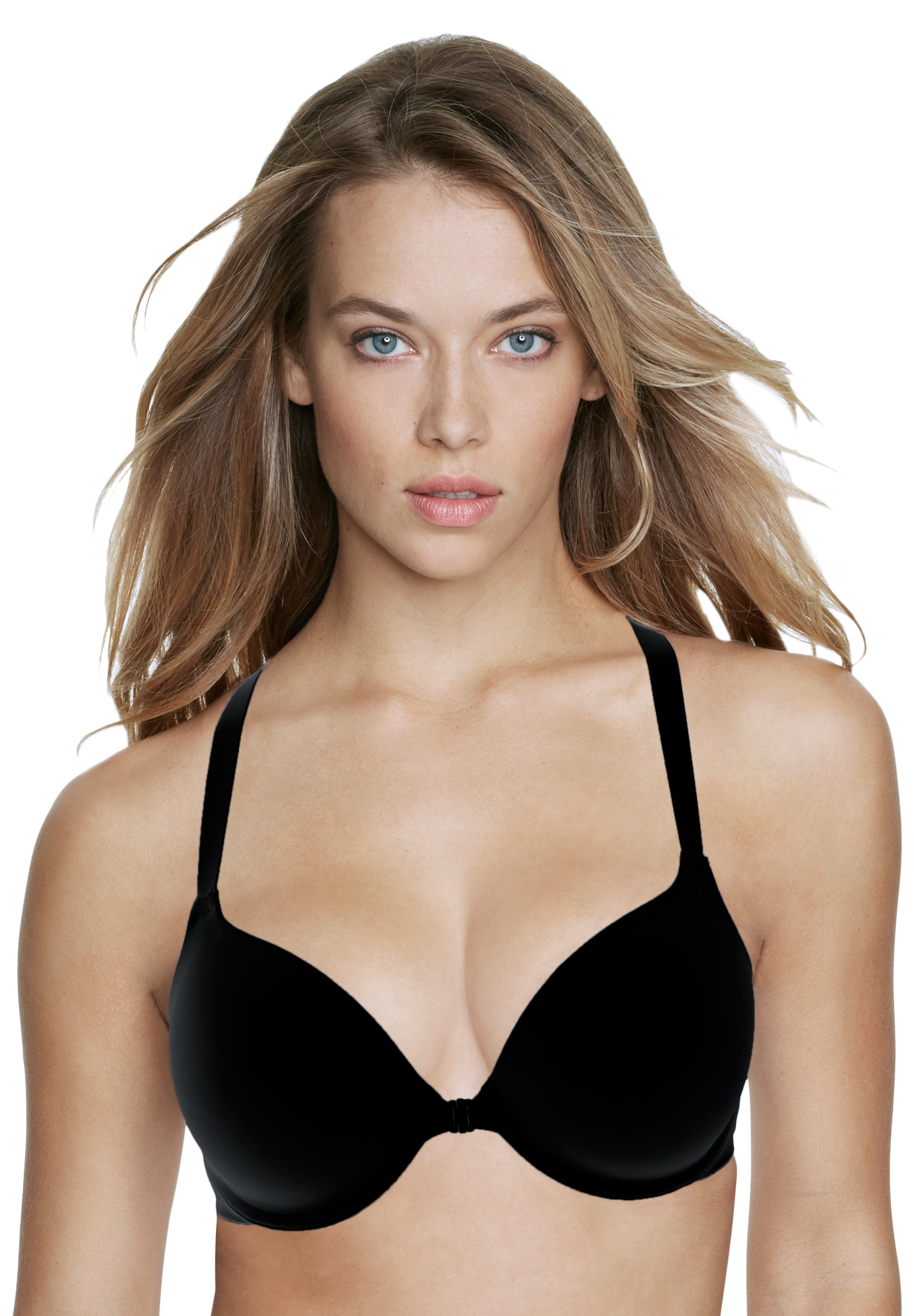 Talia everyday front closure racerback bra,