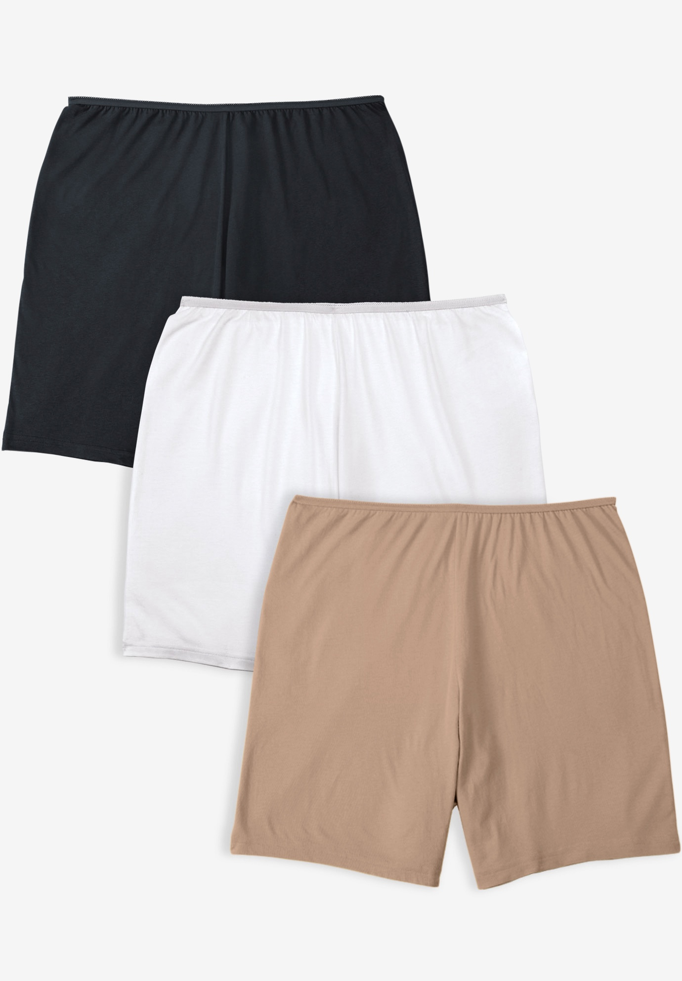 3-Pack Stretch Cotton Boxer Boyshort ,
