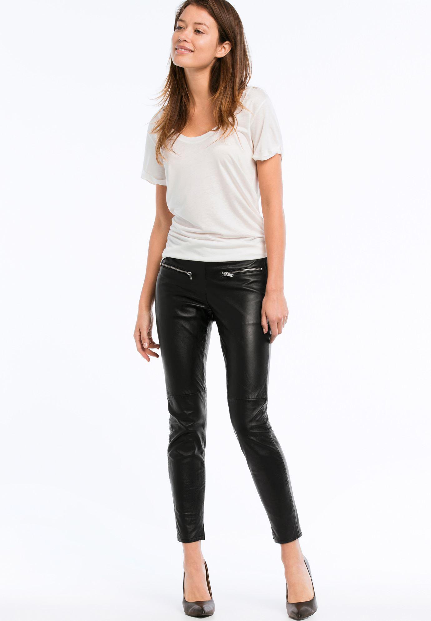 19c96ac94c7b6 Skinny Leather Pants by ellos®