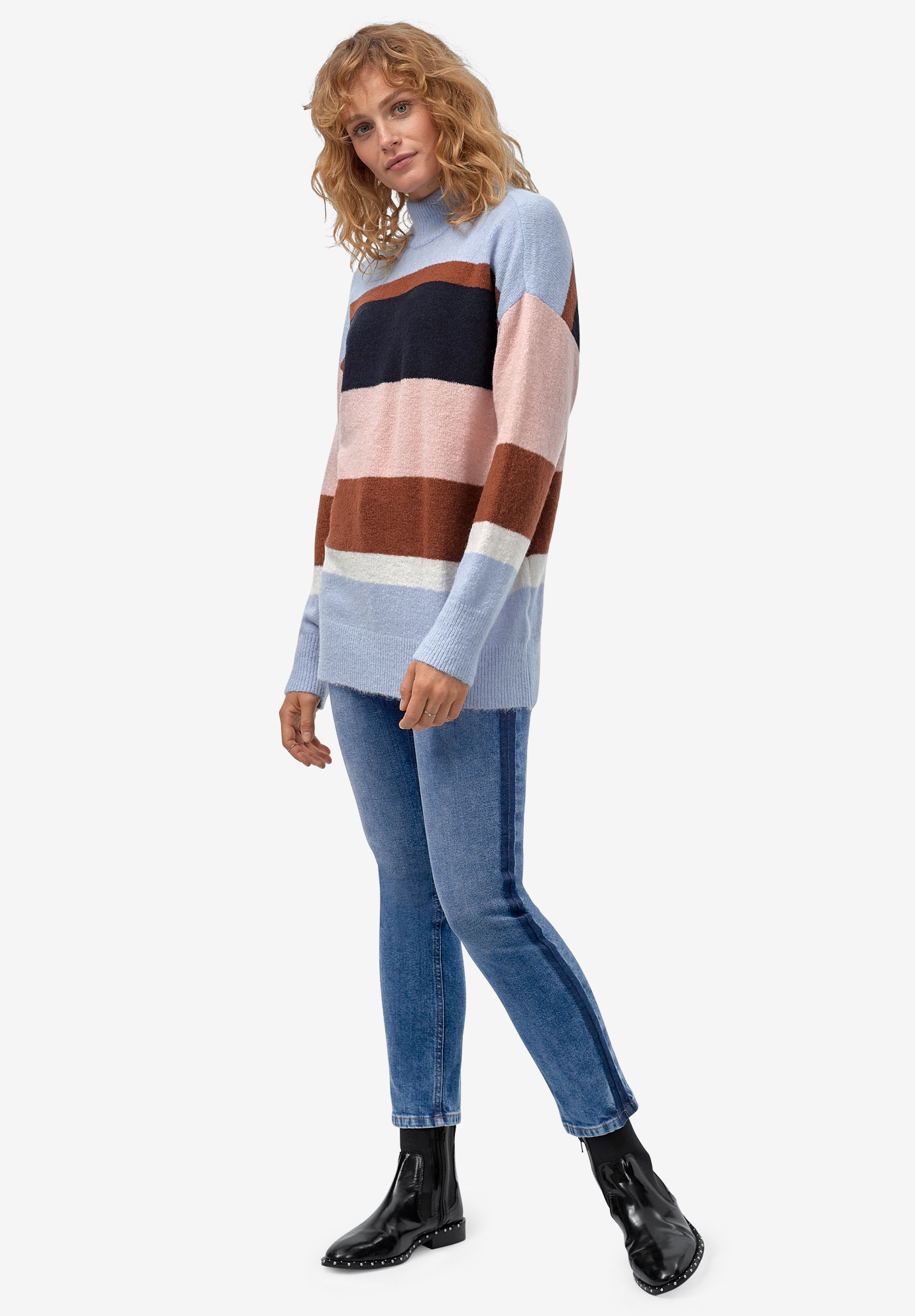 Turtleneck Sweater Tunic by ellos®,
