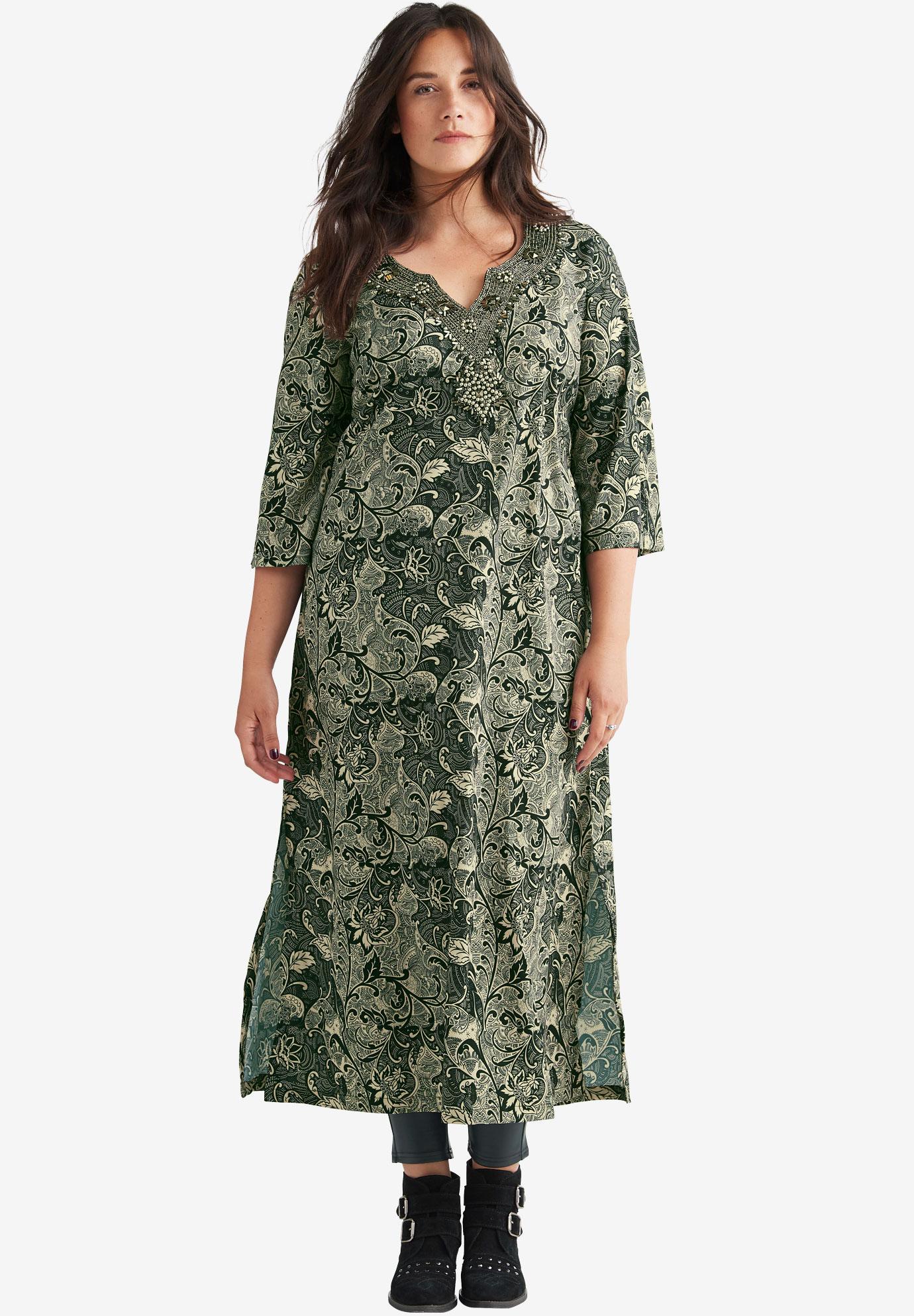 c1f3a3e6888 Lotus Maxi Dress by ellos®
