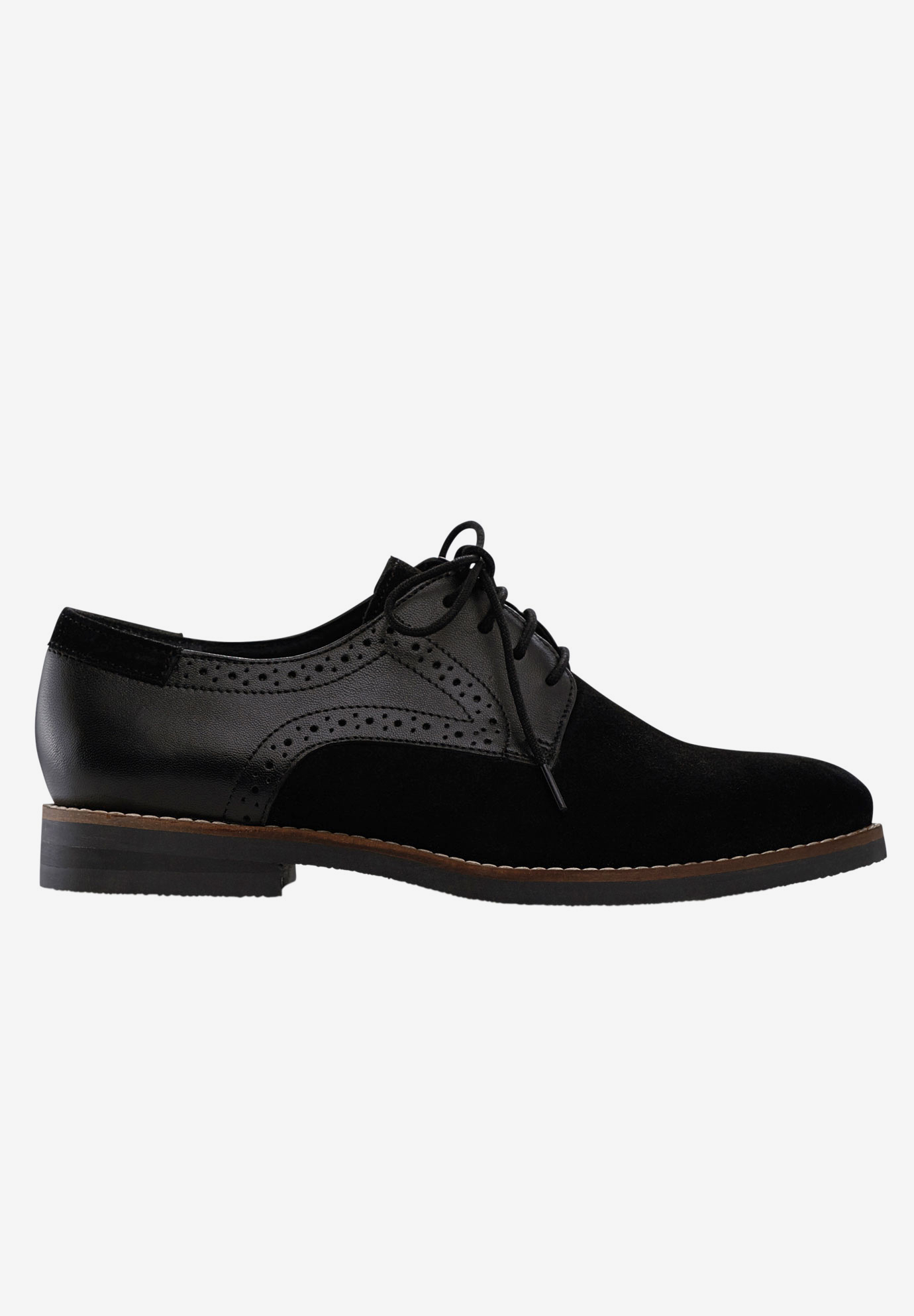 Lace-Up Oxford Flats,