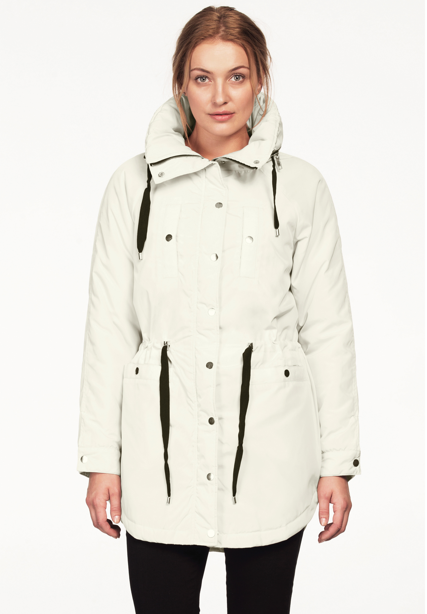 e3e2150d09a Funnel Neck Snap Anorak by ellos®