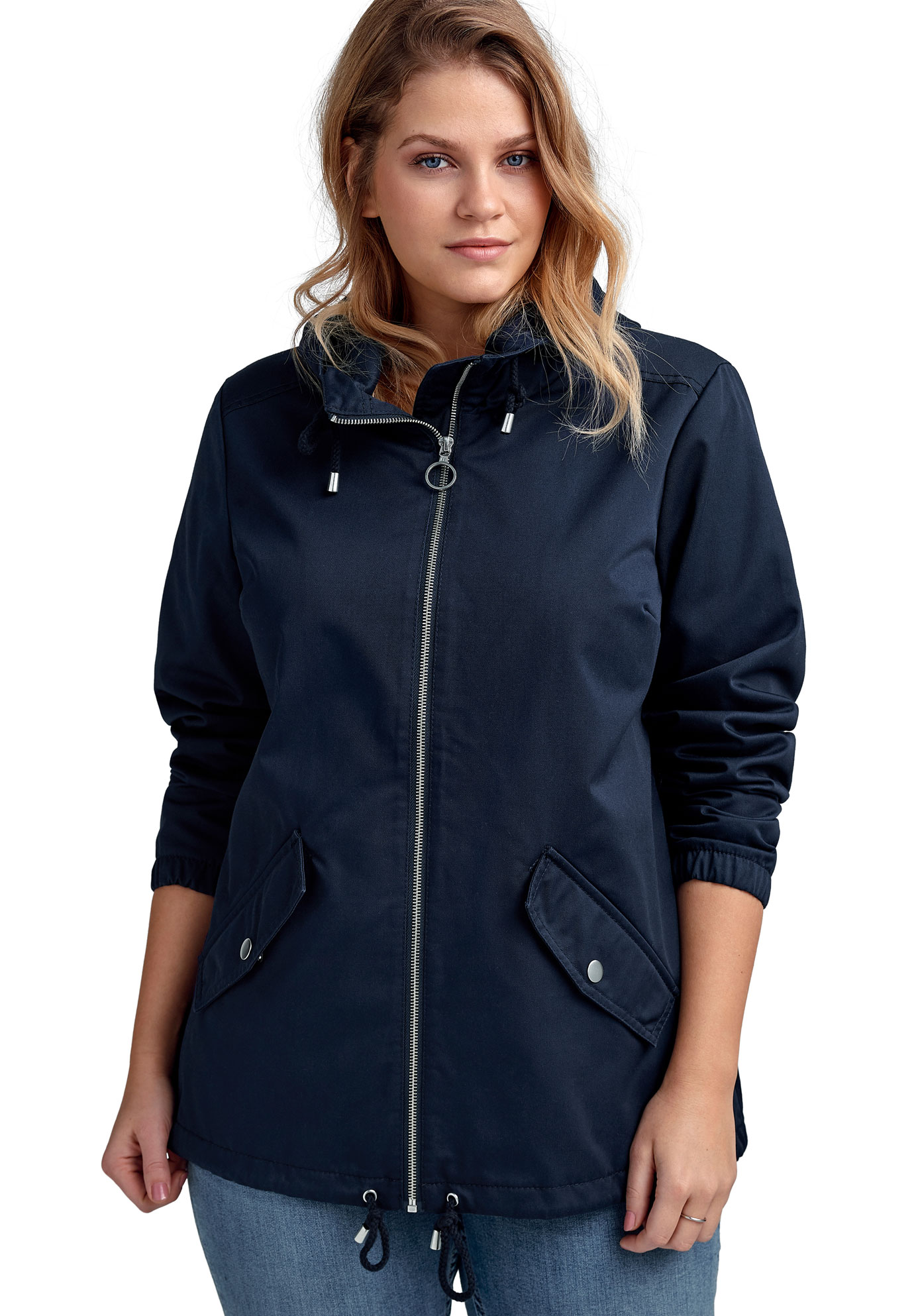 a95096c7186 Drawstring Hem Jacket by ellos®
