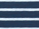 Trapeze Knit Tee by ellos®, NAVY/WHITE STRIPE, swatch