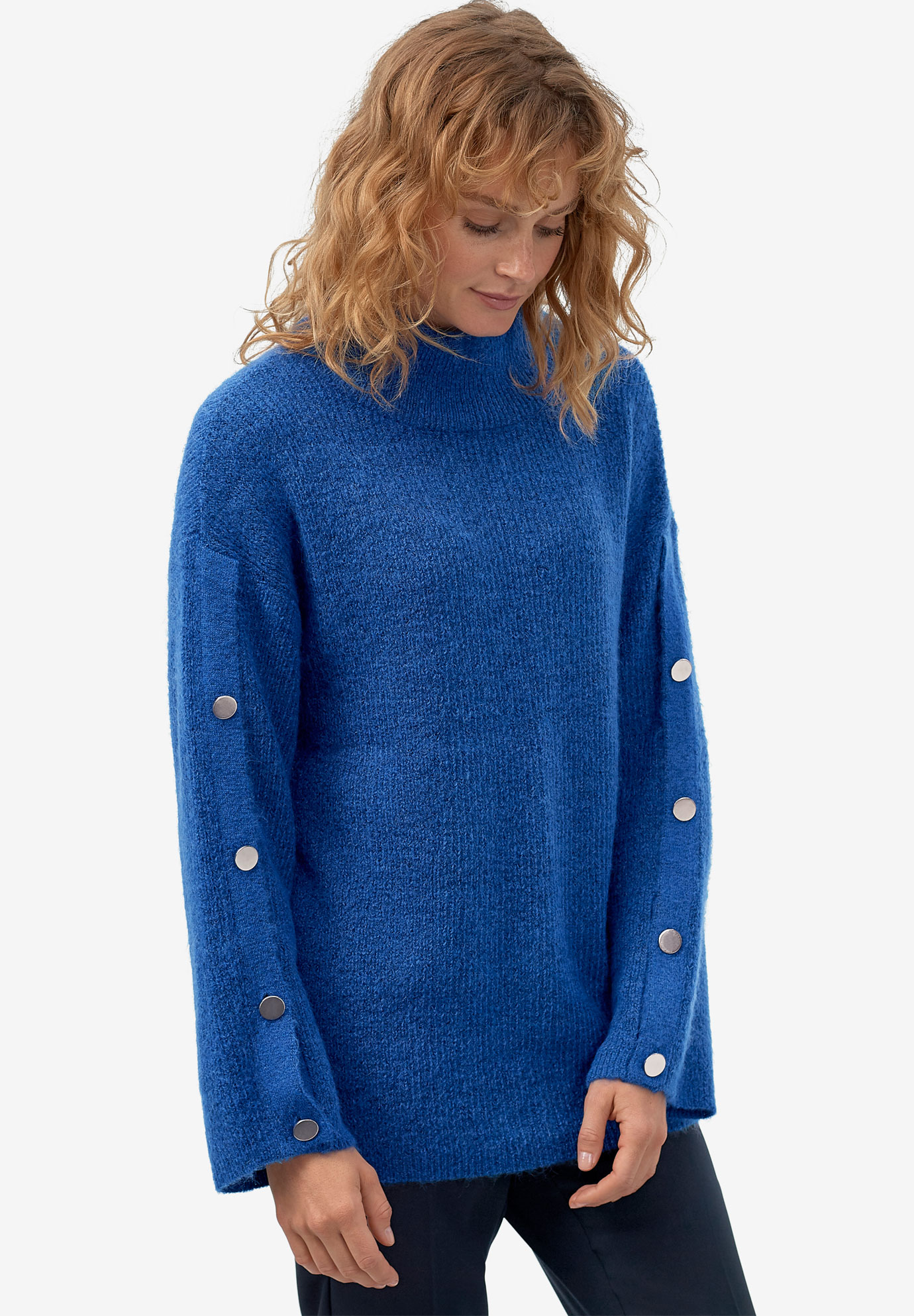 Bell-Sleeve Sweater by ellos®,