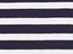 3/4 Sleeve Scoop Neck Tee by ellos®, NAVY/WHITE STRIPE, swatch