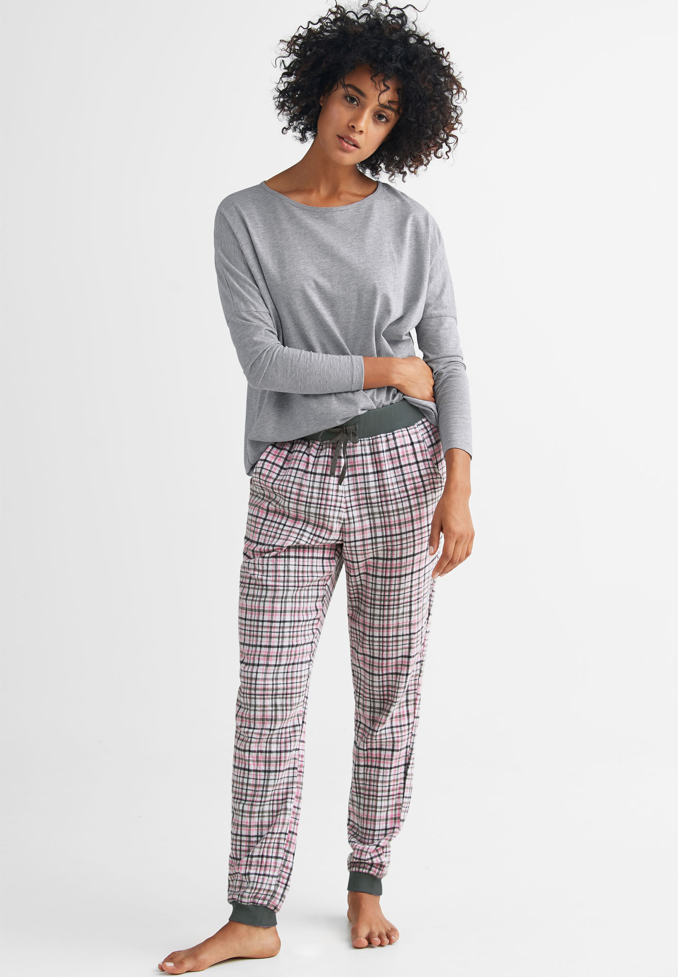 678272e65d6 Plaid Flannel Sleep Pants by ellos®