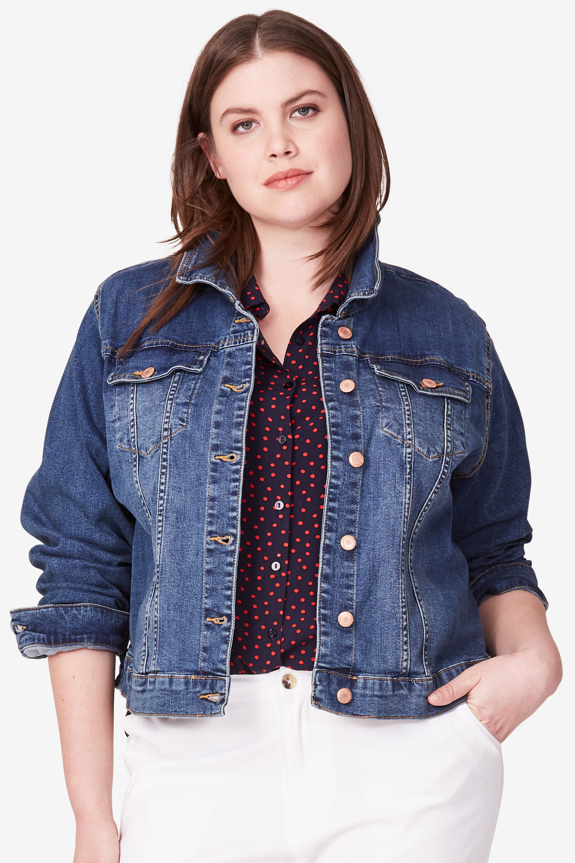 626c8d9b76859 Classic Jean Jacket by ellos®