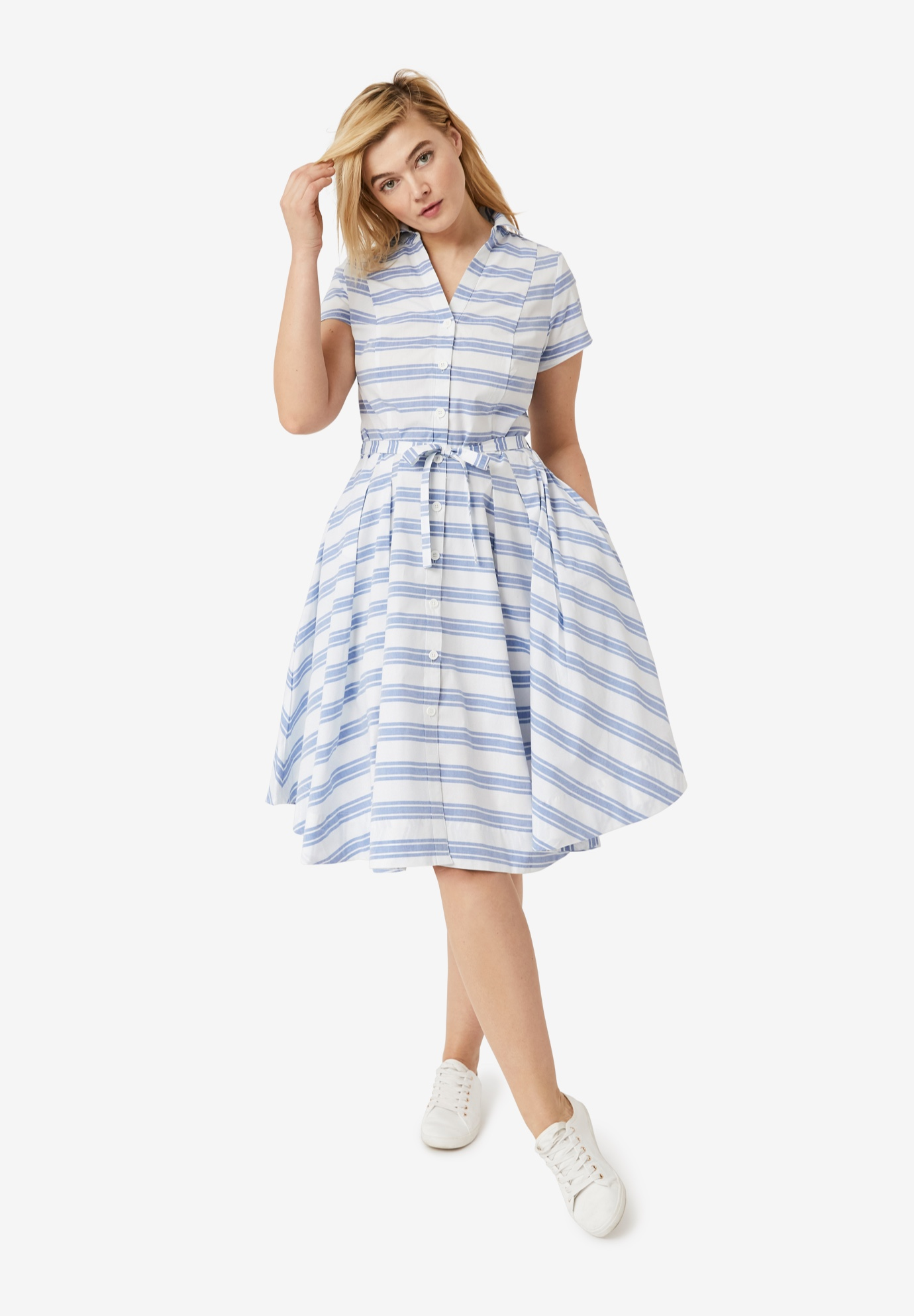 Sandy Shirtwaist Dress by ellos®