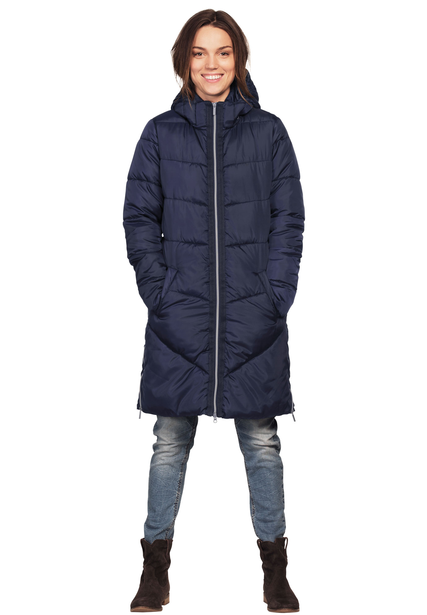 adc93208599 Long Puffer Coat by ellos®