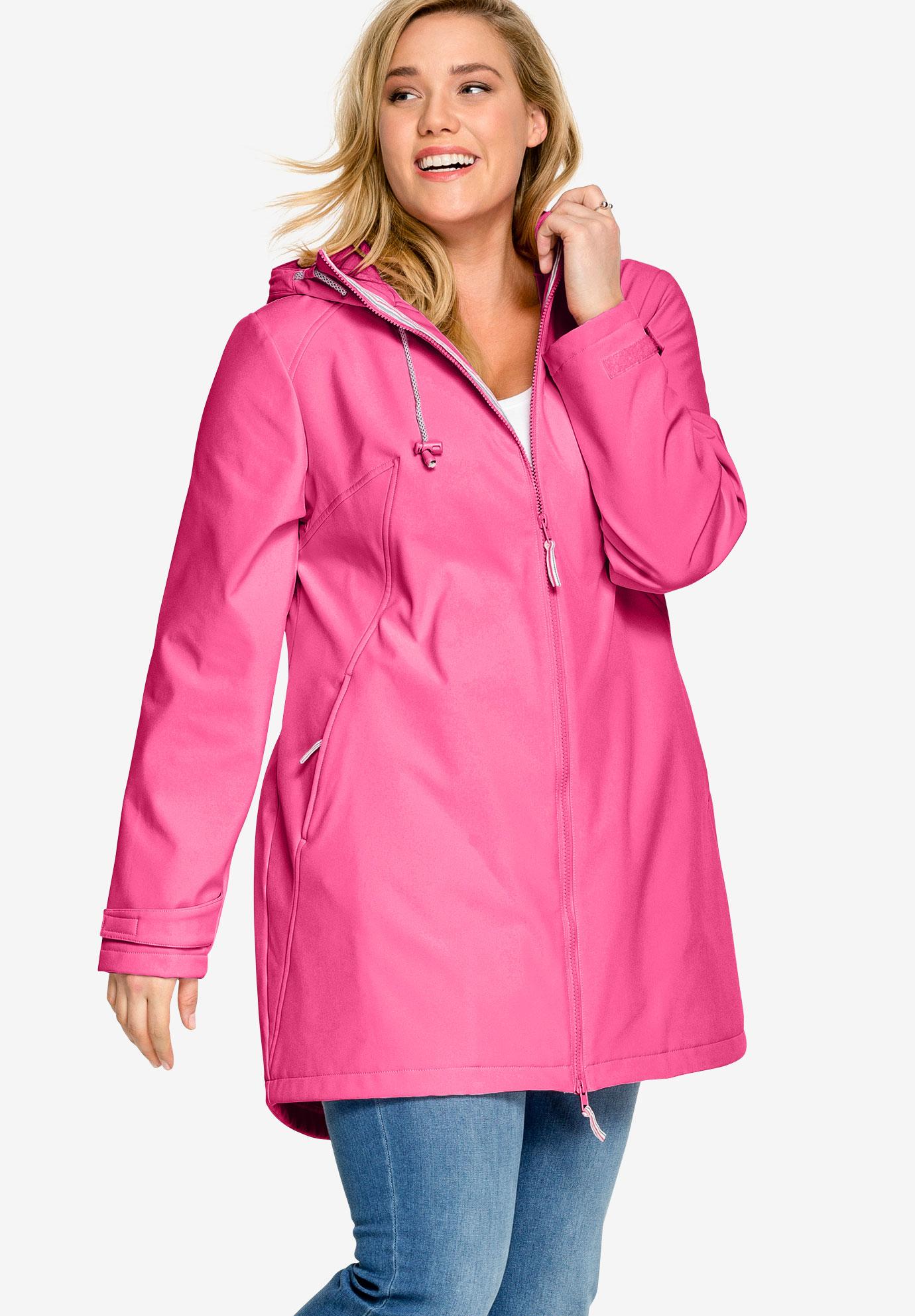b29d9b39cf2 Zip Front Bonded Fleece Jacket by ellos®